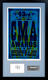 CMA Awards 2009 Framed Hatch Show Print & Brad Paisley Signed Card