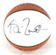 Kevin Garnett Signed Promotional Spalding Mini Basketball