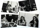 Alex Van Halen & David Lee Roth 1979 Rockline Radio Lot of 4 Original 8 x 10 Photos