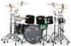 1003: KISS Eric Singer 2015 KISS Kruise & Rehearsal Used Drum Kit