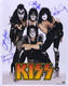 1180: KISS 2003 Fully Band Autographed 16 x 20 Photo