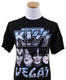 1189: KISS 2014 '40th Anniversary Tour' Lot of 4 Official Tour T-Shirts