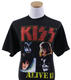1195: KISS 2010's Lot of 4 Official Merchandise T-Shirts (X-Large)