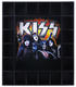 1222: KISS 2017 Rock Legends Bradford Exchange Shot Glass Custom Display Case & Glasses