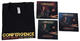 1367: Dave Weckl & Jay Oliver 2014 'Convergence' CD, DVD & T-shirt Lot