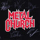 Metal Church 1991 Fully Band Signed 'The Human Factor' Promo Flat